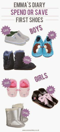 First Shoes Emma's Spend or Save