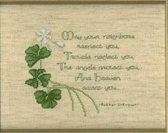 Thrilling Designing Your Own Cross Stitch Embroidery Patterns Ideas. Exhilarating Designing Your Own Cross Stitch Embroidery Patterns Ideas. Cross Stitching, Cross Stitch Embroidery, Embroidery Patterns, Cross Stitch Patterns, Floral Embroidery, Irish Blessing, House Blessing, Celtic Cross Stitch, Irish Quotes