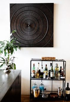 8 Incredibly Chic Home Bars to Inspire You via @domainehome