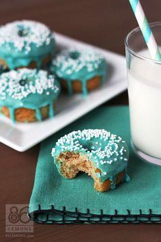 Mini Cake Donuts (vegan, gluten-free)  86lemons.com