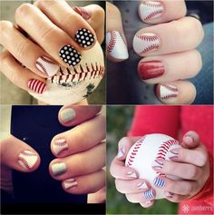 Proven targeted nutritional supplements, amazing nail designs, and unmatched opportunities for a home-based business. Baseball Nail Designs, Baseball Nail Art, Baseball Toes, Baseball Girlfriend, Basketball Socks, Mani Pedi, Manicure And Pedicure, Pedicures, Different Nail Designs
