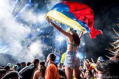 Venezuela flag. ultra music festival 2014 Venezuela Flag, International Festival, The Dj, Music Festivals, Concerts, Celebrities, Latina, Party Time, Innovation
