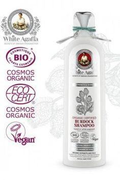 Szampon do włosów łopianowy eko - WZMOCNIENIE I BLASK - 280 ml 14,00 Cosmos, Vodka Bottle, Drinks, Drinking, Beverages, Drink, Space, Beverage, Outer Space