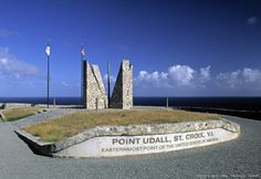 point udall (easternmost point of usa) , st. croix, us virgin islands, caribbean