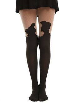 You are purchasing 1 Disney The Little Mermaid Ariel Silhouette Tights Size M/L Cute Sexy NIP Sealed! See below for specifics. | eBay!