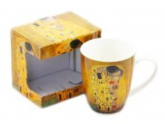 Porcelánový hrnek 340 ml - Gustav Klimt Gustav Klimt, Mugs, Tableware, Dinnerware, Tablewares, Mug, Place Settings