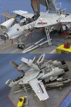 VF-1D Valkyrie maintenance | 1:72 scale