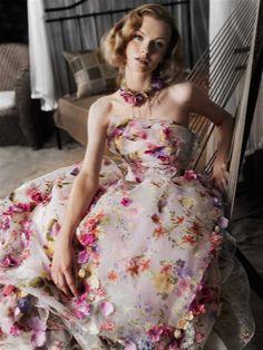 ・'.:♪*:注目!!花柄カラードレス特集・'.:♪*:の画像   ブライダルスクエア フェリチタ☆おすすめドレス&コーディネイトブログ