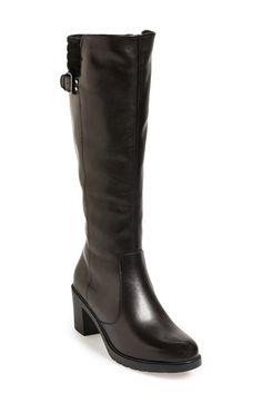 The FLEXX 'One Trick Pony' Leather Tall Boot (Women) Black Size 5.5 M on Vein - getVein.com