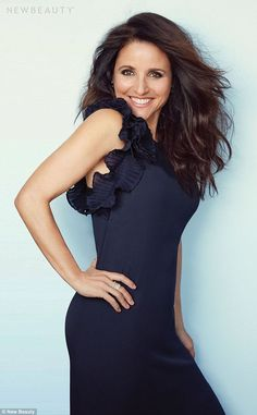 Julia Louis Dreyfuss Is As Stunning As Ever on the Cover of NewBeauty Magazine