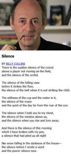 critical essay billy collins