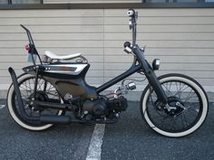 """CONEROD DEUCE#2""  Super Cub custom by Cone Custom Bike, Japan"