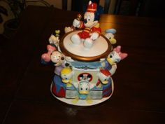 Mickey Mouse Club Cookie Jar by Disney Direct