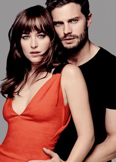 """Jamie Dornan & Dakota Johnson"" - Fifty Shades Of Grey."