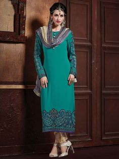 Spread your charm everywhere with this outfit.  Item Code: SLANA10781 http://www.bharatplaza.com/new-arrivals/salwar-kameez.html