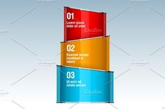 Color design infographic template by Sunny on @creativemarket