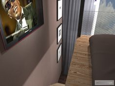 Ložnice s pracovnou a se zvýšeným spaním. Olomouc   očkodesign Curtains, Projects, Home Decor, Log Projects, Blinds, Blue Prints, Decoration Home, Room Decor, Draping