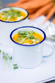 Karotten Kürbis Suppe