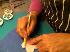 5 petal rose tutorial Oct 12 001 - YouTube