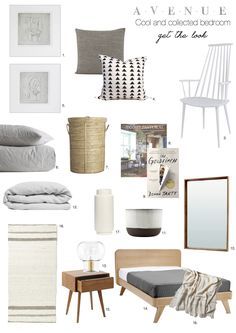 Cool and Collected: Bedroom Makeover - Avenue Lifestyle Avenue Lifestyle Guest Bedrooms, Throw Pillows, Ammonite, Interior Design, Cool Stuff, Modern, Shop, Bedroom Ideas, Projects