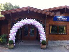 Ballonboog 6m Roze en Wit La Campagne Geervliet