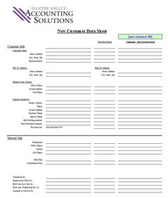 Customer Contact Form   Silicon Valley Accounting Solutions – Managerial and Financial ...