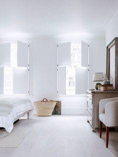 wabi sabi whitewashed interior. / sfgirlbybay