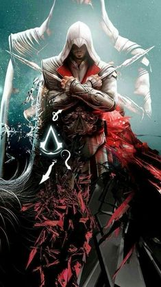 Ezio - Assassins Creed Amazing and majestic. Nothing else to say. The Assassin, Assassins Creed Series, Assassin's Creed Hd, All Assassin's Creed, Assassin's Creed Brotherhood, Gaming Wallpapers, Animes Wallpapers, Assassin's Creed Wallpaper, Assassins Creed Wallpaper Iphone