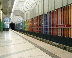 U-Bahn Station Dülferstraße Bay Area Rapid Transit, U Bahn Station, Underground Cities, S Bahn, Metro Station, Pathways, Real Estate, Architecture, City