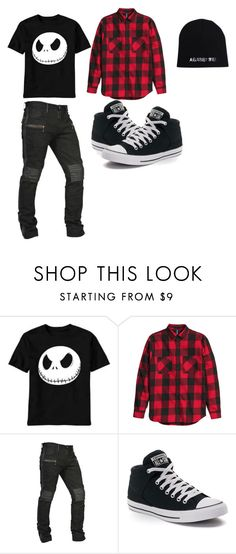 """bad boy~"" by grapethsgreat ❤ liked on Polyvore featuring Converse, men's fashion and menswear"