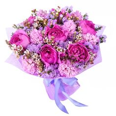 Colorful Emotions Bouquet. You can get more at http://www.flowers-armenia.info