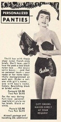 Vintage Panty Ads 85