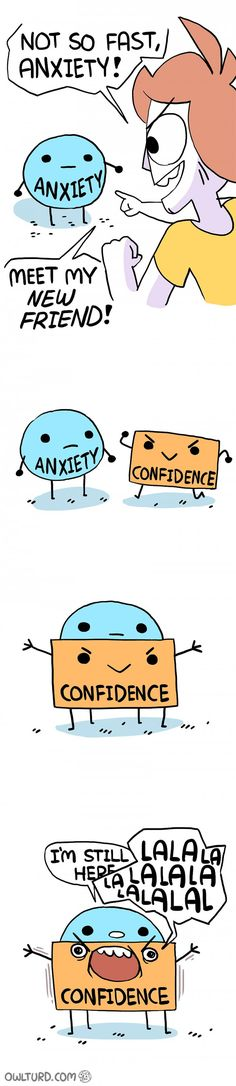Lol Anxiety vs confidence Anx=LOOOL Anxiety beats confidence in milisecind!!!!