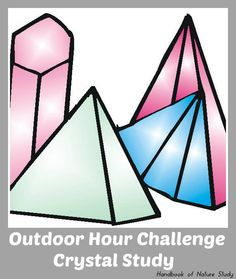 A9: Dissolving, Solutions and Crystallization  Outdoor Hour Challenge Crystal Study @handbookofnaturestudy
