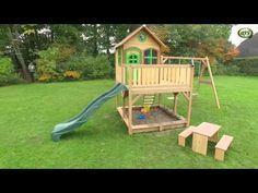 New Axi A Spielhaus Liam mit Einzel Schaukel AXI MARKENSHOP Kajak