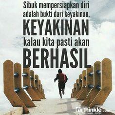 Sibuk persiapkan diri untuk menyambut keberhasilanmu