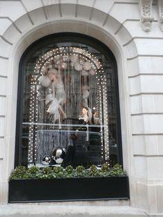 Window Holiday Display, Ralph Lauren, Madison Avenue, NYC 2015