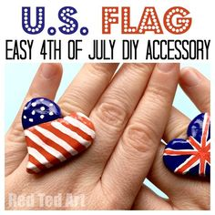American Flag Ring D