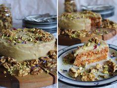 This Rawsome Vegan Life: raw carrot cake with cashew cream cheese frosting