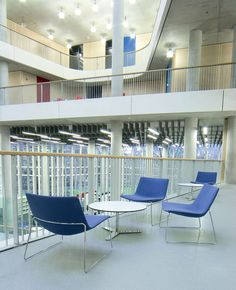 City of Westminster College, London UK Schmidt Hammer Lassen Architects  #Arper #Catifa80
