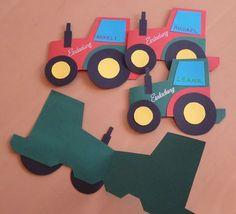 Einladungskarten Traktor Kindergeburtstag | Geburtstagseinladungen Zum  Ausdrucken