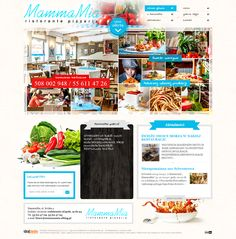 WebDesign 2012 - grafika dla firmy MammaMia