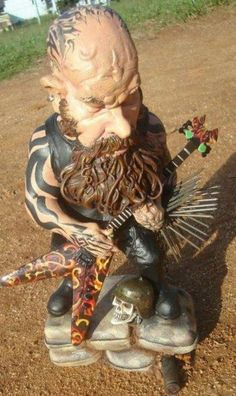Kerry King Garden Gnome...I gotsta get me one of these