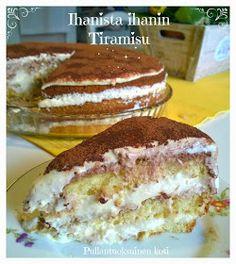 Ihanista Ihanin Tiramisu Marsala, Espresso, Ethnic Recipes, Desserts, Food, Espresso Coffee, Tailgate Desserts, Deserts, Essen
