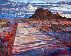Erin Hanson western landscape artist