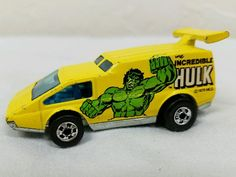 Vintage 1978 Hot Wheels Spoiler Sport The Incredible Hulk Diecast Vehicle   eBay