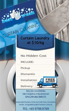 Curtain Cleaning Experience You Have Never Had | Dry cleaning and ...