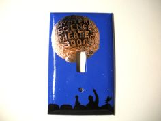 Mystery Science Theater 3000 Single Switch Plate by PaperMoonC, $9.00