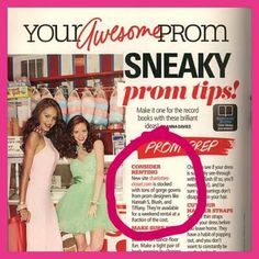 I spy with my little eye - Charlotte's Closet in @Seventeen  Prom Edition!  --it's never too early to think about your prom dress!   www.charlottes-closet.com