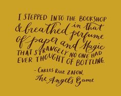 Best Quotes 365: I stepped into the bookshop